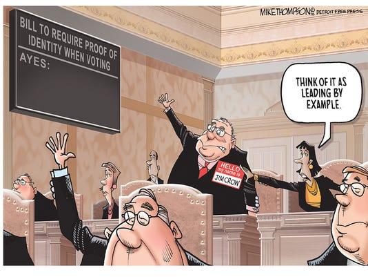 Voter suppression in Michigan
