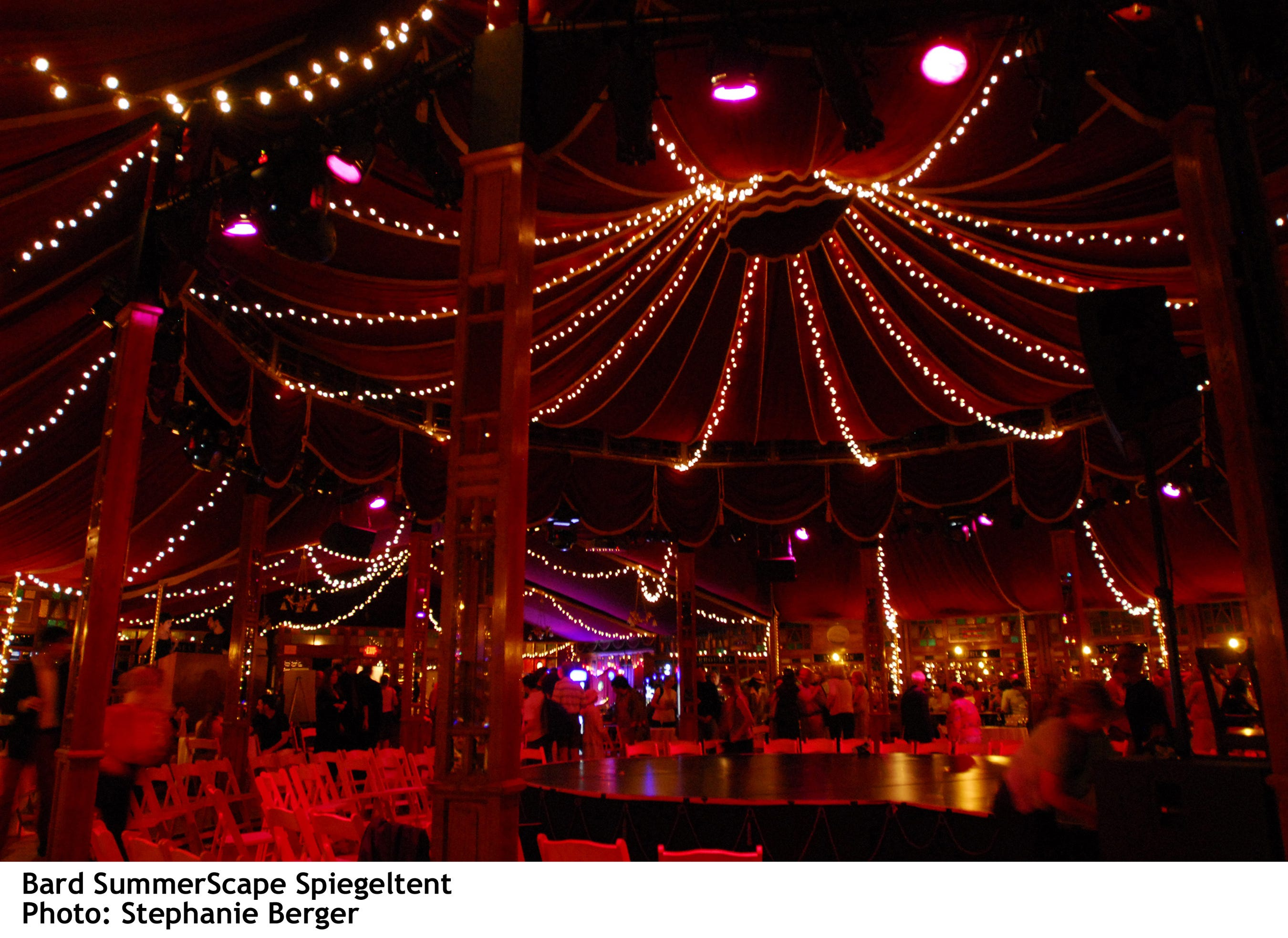 & A sizzling summer at SummerScape the Spiegeltent