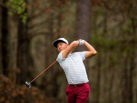 Florida State freshman John Pak has finished in the