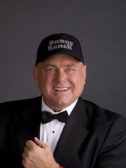 A file photo of brothel owner Dennis Hof, who owns