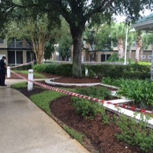 Investigators with JSO canvassed the scene of a reported drowning Saturday.