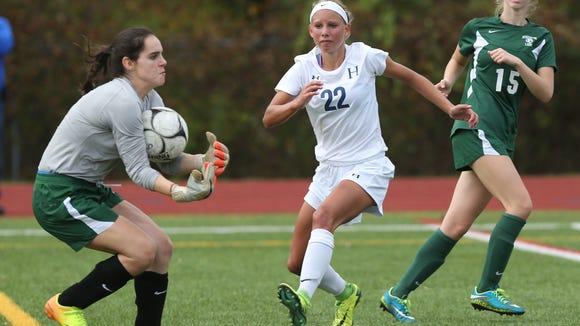 Haldane defeated Schechter 3-0 in the girls soccer