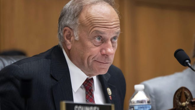 Rep. Steve King, R-Iowa, attends a hearing in 2018 on Capitol Hill in Washington.
