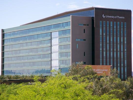 A University of Phoenix office in Phoenix on Friday,
