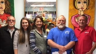 The second annual Joe's Bar & Grill Motor Show fundraiser raised $3,095.57 for the Family Shelter on Oct. 21. The event was sponsored by Ener-Tel, Lonestar Performance, O'Reilly Auto Parts, Red Bluff Storage and United Rentals. Joe's Bar & Grill is a local car club.