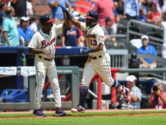 MLB: Milwaukee Brewers at Atlanta Braves