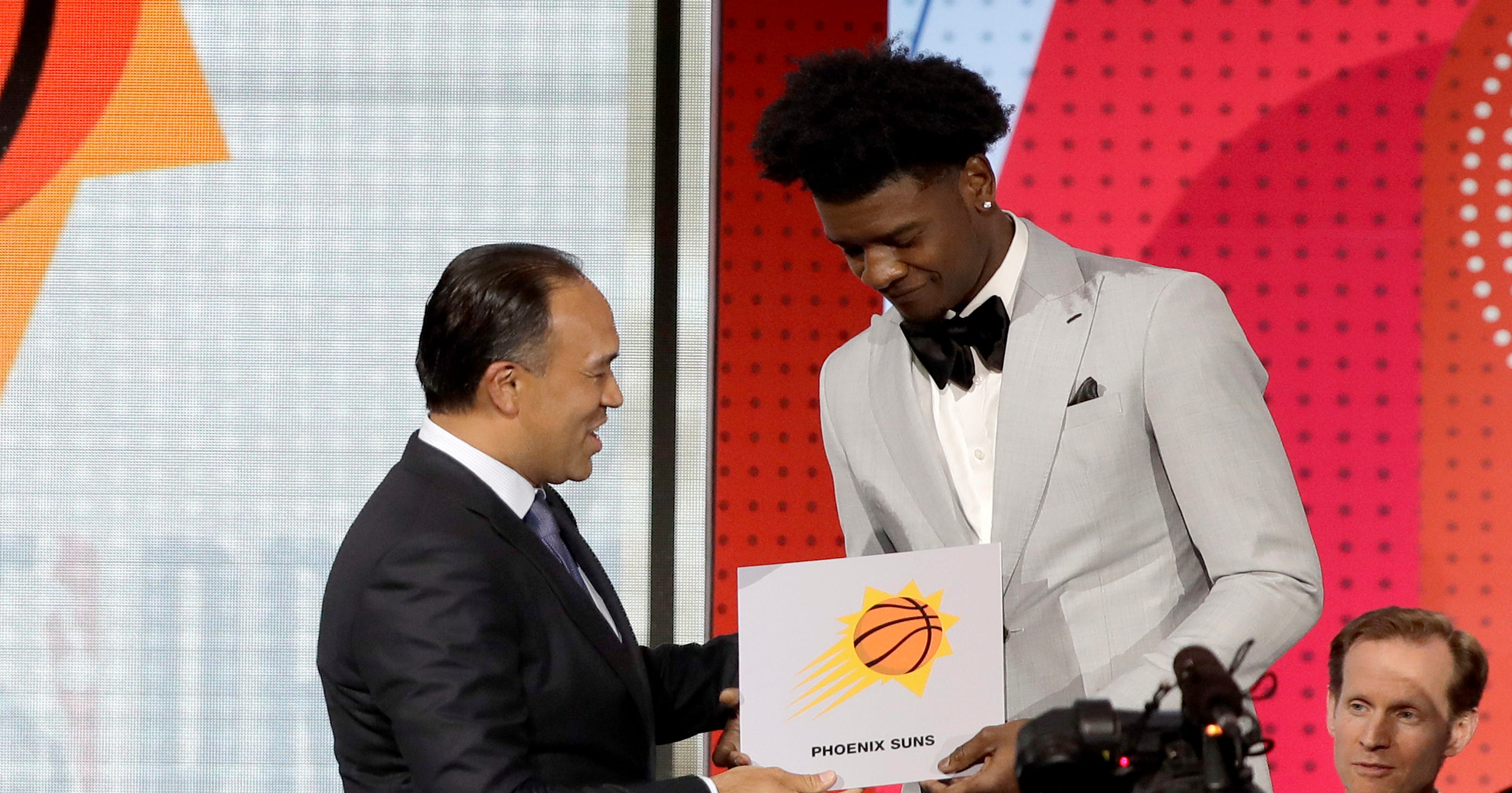 3060eedeb Phoenix Suns land No. 1 pick in 2018 NBA draft