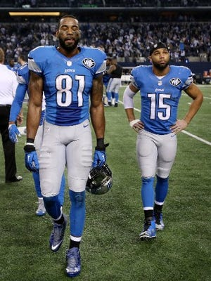 Can the Lions make better use of Calvin Johnson and Golden Tate on Sunday against the Vikings?