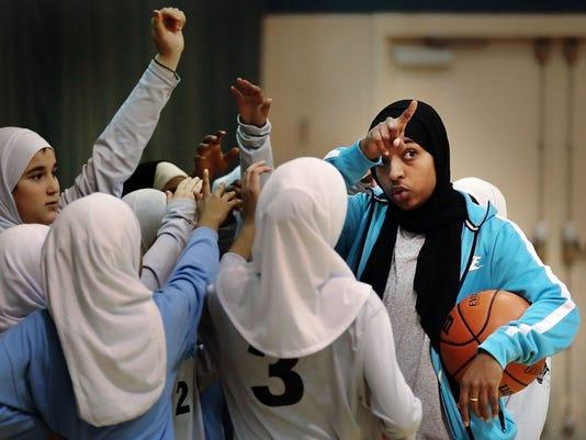 hijab hoops