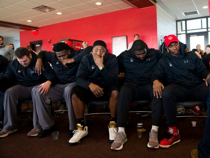 APSU seniors react to finding out they will not be