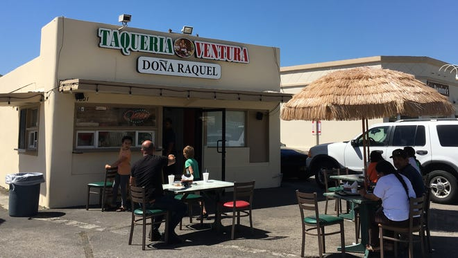 Taqueria Ventura Dona Raquel opened last month at what used to be Bear Bites on Ventura Avenue in Ventura.