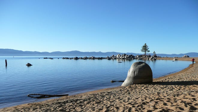 Zephyr Cove at Lake Tahoe was the site of an on-shore fuel leak in 2011. The cleanup is still ongoing five years later.