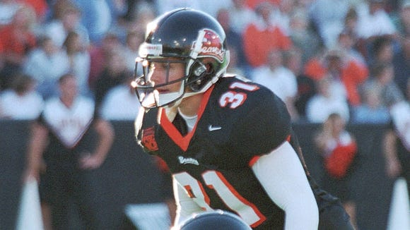 Former Oregon State safety Jake Cookus played for the Beavers from 1998-2001.