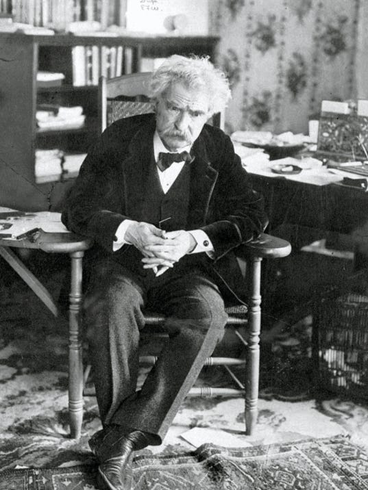 Author Samuel Clemens wrote and entertained legions of readers under the pen name Mark Twain.