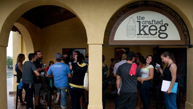There are several karaoke options in Martin County, including The Crafted Keg in Stuart.