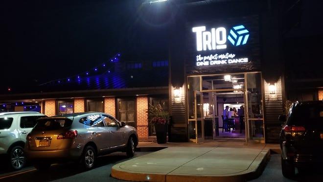 The exterior at Trio.