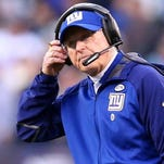 Tom Coughlin, who resigned as head coach last week after coaching the Giants for 12 seasons, interviewed with the Eagles on Monday.