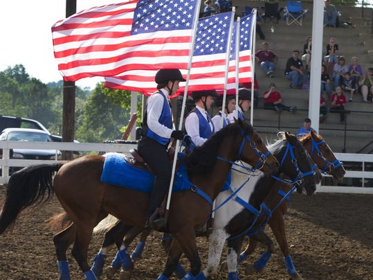 County Horse Shows Horse Show Provides Community