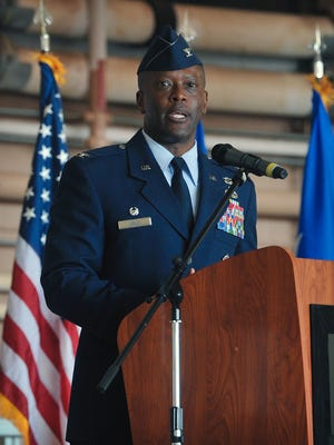 Brig. Gen. (Select) Ronald Jolly Sr., commander of the 82nd Training Wing at Sheppard Air Force Base, will be the keynote speaker for Tuesday's Americanism Luncheon presented by the Northwest Texas Council of Boy Scouts.