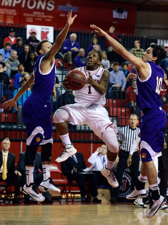 usd western illinois mens basketball