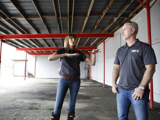 Proof Brewing Company Co-Founders Angela and Byron