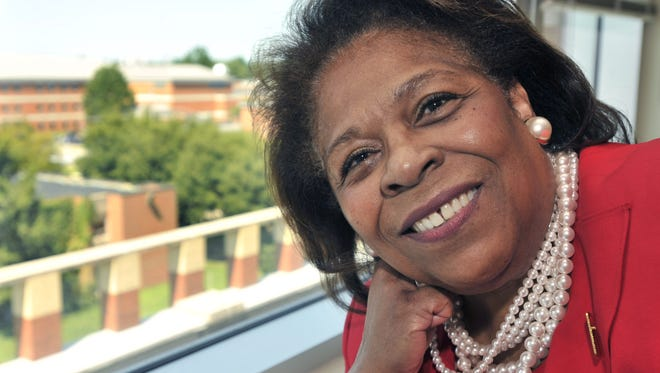Dr. Wilma Mishoe has been named the interim president of Delaware State University.
