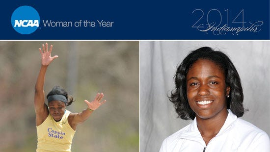 Christina Epps, a graduate of Morristown and Coppin State, is one of the 30 finalists for NCAA Woman of the Year.