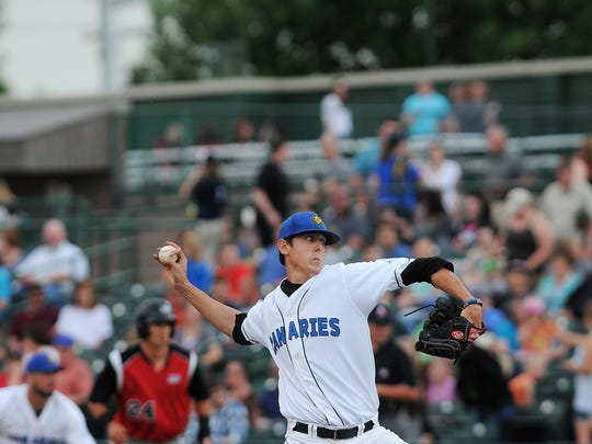 Sioux Falls Canaries' Shawn Blackwell was 5-9 last season with a 3.64 ERA.