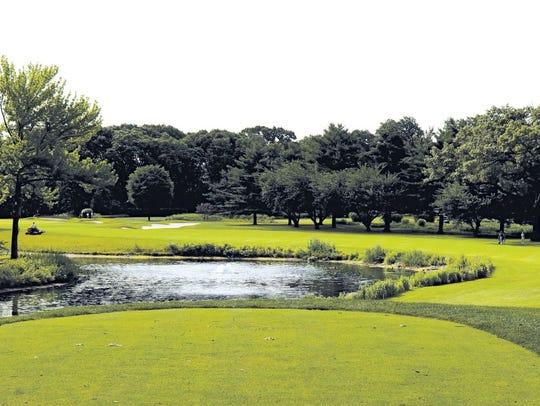 Ridgewood Country Club golf course.