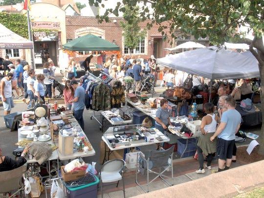 Labor Day Street Fair, Rutherford.