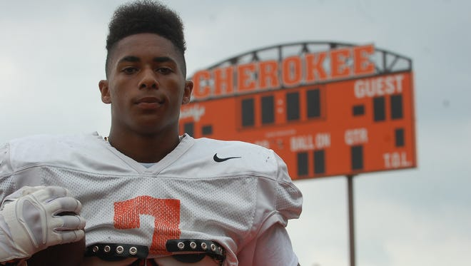 A Rutgers recruit, senior John Lovett is expected to be the centerpiece of the Cherokee offensive attack this fall.
