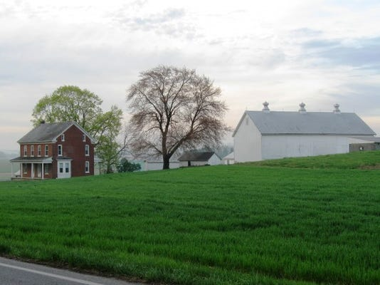 Bucolic farm setting off of Baker Road in West Manchester Township, York County, Pa. Photo by Scott Mingus