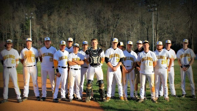 The Murphy baseball team.