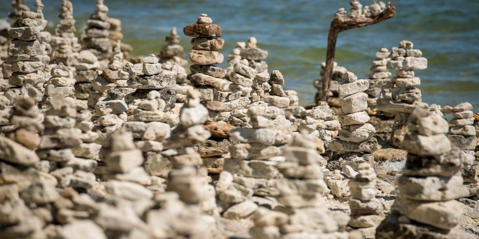 Rock Stacking Deplorable Activity Or Community Art