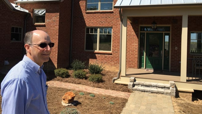 Bill Moore's energy-efficient home will soon be LEED-certified.