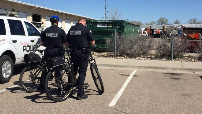 Police and hazmat crews responded Wednesday to the Fort Collins Street Operations facility on reports of an explosive device. The charge was later deemed inert, police said. Nobody was injured.