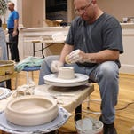 Clay Studio manager Charles Freeland will be leading a new beginner clay class at Black Mountain Center for the Arts.