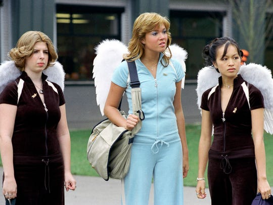 American Christian High School students Tia (Heather