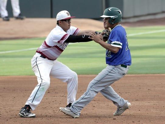 El Dorado baseball defeats Montwood Friday at Southwest