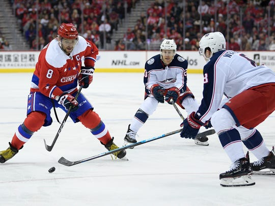 Washington forward Alex Ovechkin won't play in the All-Star Game to rest for the remainder of the season. He will serve a one-game suspension.