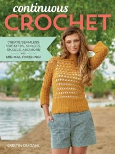 """Interweave has published another winner, """"Continuous Crochet"""" by Kristin Omdahl."""