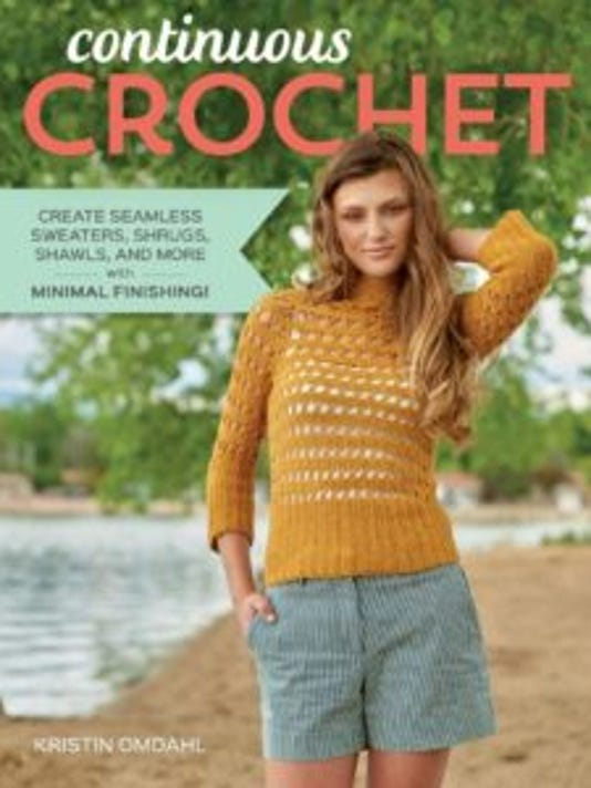 """Interweave has published another winner, """"Continuous Crochet"""""""" by Kristin Omdahl."""