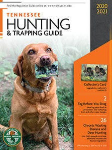 The 2020-21 Tennessee Hunting and Trapping Guide is out and being delivered to stores where licenses are sold.