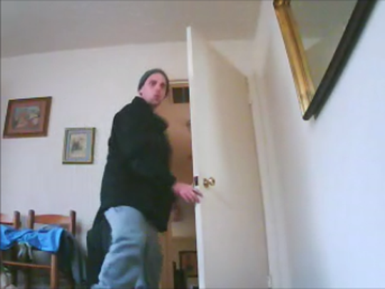 One of the three burglars being sought by the Rutherford