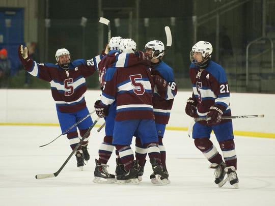 Spaulding vs. South Burlington Boys Hockey 12/29/16