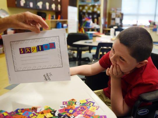 Skyler Bragg spends his days at Vero Beach Elementary