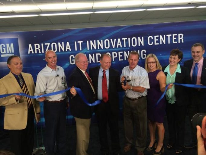 GM Arizona Innovation Center ribbon ceremony