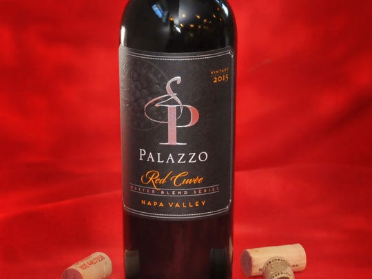 1. Wine-of-the-Year: Palazzo 2015 Napa Valley Cuvee Red, California ($45-$50)