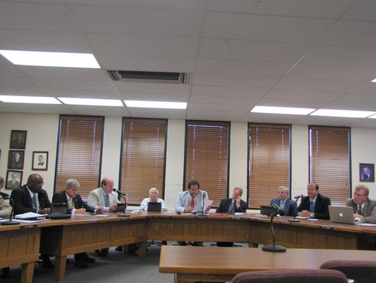 The Worcester County school board approved a balanced