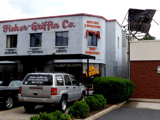 The Fisher-Griffin Co. in Walnut Hills lost a 75-year-old